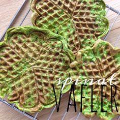spinatvafler (LCHF) | vaffel-toast