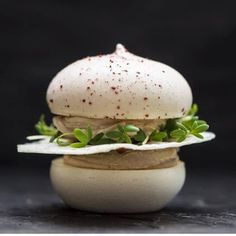 "sashimigalore: ""#frantzen #stockholm #michelin #sweden #amusebouche #macaron #foie by foieandtruffles http://ift.tt/1TFGnbY http://ift.tt/1Xyy9F6 """