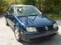 Blue VW Jetta <3. My next new car - couldn't come close to my first jetta - J1 was perfect, this one had lemon tendencies.