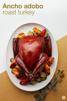 Ancho Adobo Roast Turkey