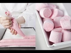 Tip: How to make delicious Marshmallows ? Super Dieta, Köstliche Desserts, Marshmallows, Biscuits, Sweet Recipes, Sweet Treats, Food And Drink, Cooking Recipes, Food Porn