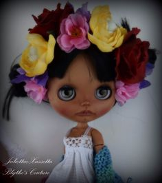 Blythe Frida Kahlo look by JuliettaeXussetta