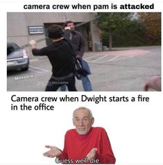 Really Funny Memes, Stupid Funny Memes, Funny Relatable Memes, Haha Funny, Hilarious, Lol, Dundee, The Office Show, The Office Facts