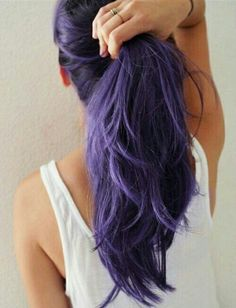 Image via We Heart It https://weheartit.com/entry/175027899 #amazing #beautiful #beauty #braid #cold #coloredhair #cool #cute #fashion #girl #girly #grunge #hair #hairstyles #longhair #pale #pastel #perfect #purplehair #style