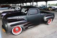 Studebaker - A girl could get used to driving a pickup like this ;)