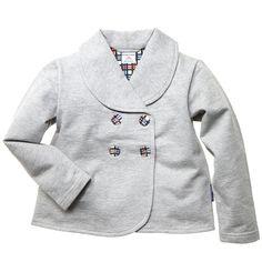 Baby sweatshirt blazer so cute!!!!! i want this :) so classy