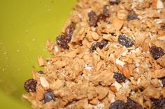 Homemade Granola (soaked grain)  www.passionatehomemaking.com