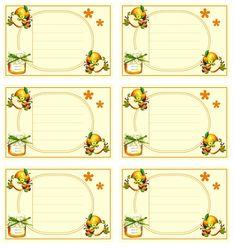je vous offre toute sorte de carte et autre articles... Pour les imprimer, clic gauche sur l'image pour l'avoir dans sa taille originale, puis clic droit---->enregister sous. ouvrez l'image ainsi chargée dans votre dossier , puis clic droit imprimer ^_^ Mason Jar Gifts, Mason Jars, Printable Labels, Free Printables, Canning Labels, Christmas Clipart, Food Illustrations, Pots, Paper Crafts