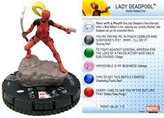 Lady Deadpool #037 Deadpool Booster Set Marvel HeroClix