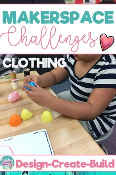 Combine thematic units and creative, artistic, outside-the-box thinking in these STEM and STEAM Makerspace activities about clothing! They are a great way to incorporate STEM into your core Reading, Math, Science or Social Studies instruction. They come in a variety of sets so that you can differentiate based on your student's needs. #makerspace #makerspaceactivities #clothing #handsonlearning #stem