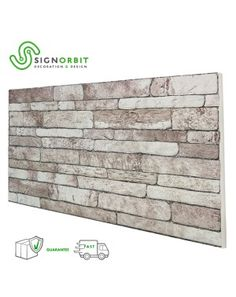 pannello finta pietra ricostruita effetto 3d superficie verniciabile New England, Resin