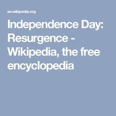 Independence Day: Resurgence - Wikipedia, the free encyclopedia