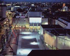 SCHOUWBURGPLEIN [Theater Square] Rotterdam, the Netherlands. 1991-96