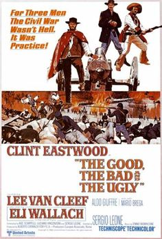 The Good, the Bad and the Ugly (1966). I remember seeing this at the drive in with my mom & dad