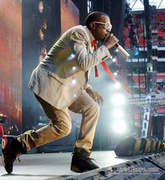 When Kanye is wearing those Jordan Infrared 6's you want...you know things just got real O.O