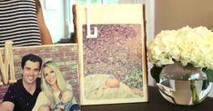 DIY Home Decor Ideas | Photo Transfer to Wood DIY Picture Frame at http://diyjoy.com/craft-ideas-diy-picture-frames