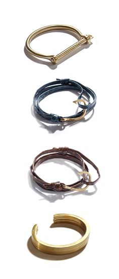 Brace Yourself: Miansai's masculine bracelets come in new shades for fall.
