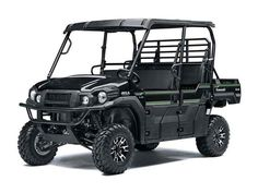 New 2017 Kawasaki Mule Pro-FXT EPS LE ATVs For Sale in Indiana. 2017 Kawasaki Mule Pro-FXT EPS LE, Fastest, Most Powerful 6 passenger Mule ever! The Kawasaki Difference: Kawasaki Strong - Our Fastest, Most Powerful Six-Passenger Mule Ever The 2017 Mule PRO-FXT Side x Side has incomparable strength and endless durability backed by over a century of Kawasaki Heavy Industries, Ltd. engineering knowledge. Go and get the job done with the Mule PRO-FXT Side x Side three-passenger Trans Cab system…