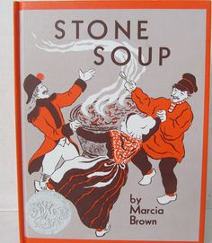 STONE SOUP BOOK by Marcia Brown - Caldecott Book by CellarDeals on Etsy
