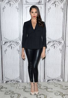 Meghan Markle at the AOL Build Speaker Series for Suits