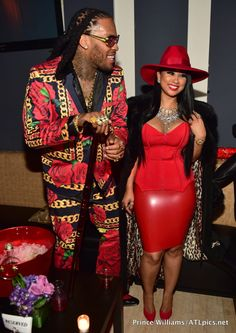 On the Scene: Toya Wright's Player's Ball Halloween Party featuring Rasheeda, Dej Loaf, Tammy Rivera, and More! Black Love Couples, Cute Couples, Tammy And Waka, Waka Flocka And Tammy, Ball Theme Party, Tammy Rivera, Chic Outfits, Fashion Outfits, Party Outfits
