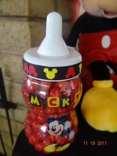 Mickey Mouse themed baby shower