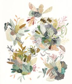 Michelle Morin   Flora and Fauna print pattern inspiration