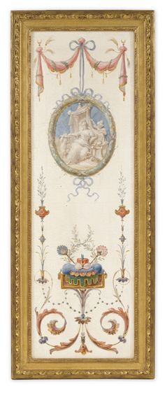 JEAN-MARIE DUSSAUX (ACTIVE 1770'S) a set of three turquerie wall panels oil on canvas, each in later giltwood frame.