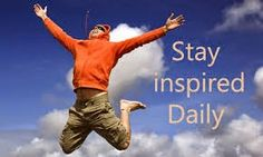 Inspired New Living: You've Got to Stay Inspired!