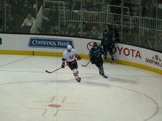 San Jose Sharks vs. New York Islanders - SAP Center at San Jose - San Jose, California - December 10, 2013