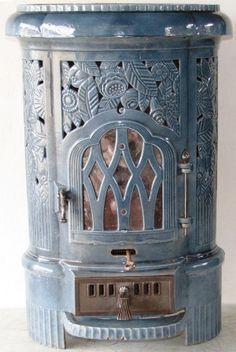 Multi Fuel Tower stove by Deville Charleville Mézières
