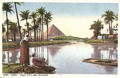 old postcards egypt - Google Search