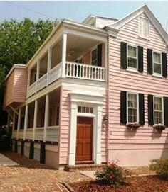Dream Home Charleston Single House On Pinterest
