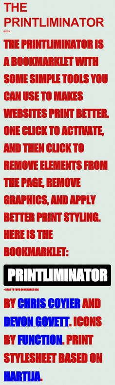 The Printliminator Demo How To Remove, How To Apply, How To Make, Apps, Printing, Tools, Canning, Website, Simple
