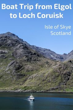One of the Jewels of the Isle of Skye, Scotland, Loch Coruisk is in the heart of the Black Cuillin Mountains. Accessible only by boat or hiking, the loch is a great place to escape into nature. Video, Photos and planning info: http://www.zigzagonearth.com/loch-coruisk-elgol-boat-trip/