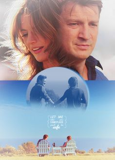 """""""Let me take you someplace…someplace you'll be safe"""" Love Castle! Castle Abc, Castle Tv Series, Castle Tv Shows, Castle Quotes, Nothing Gold Can Stay, Castle Beckett, Fantastic Show, Nathan Fillion, Movie Couples"""
