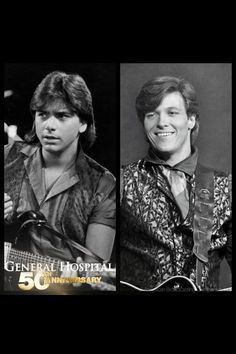 Blackie and fresco on General Hospital history