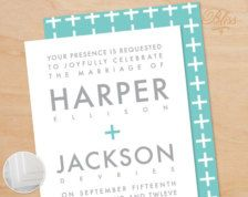 Invitations for Weddings, Bridal Showers, Engagement Parties - Page 13 - Etsy
