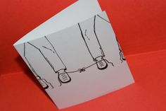 Wedding, engagement, or anniversary card for a same-sex couple/gay men. How adorable are the laces tied together?