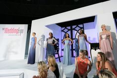 Bridesmaid dresses by Gelique on the runway at The Wedding Expo March Photography by SDR Photo. African Design, Ready To Wear, Fashion Show, Runway, March, Bridesmaid Dresses, Gowns, Concert, How To Wear