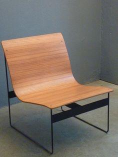 Easy Chair Schichtholz Eisen 003