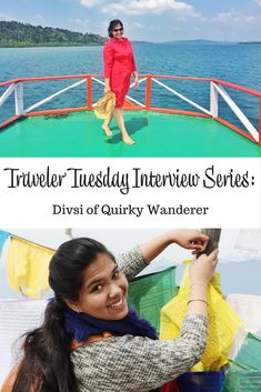 Interview with travel blogger Divsi of Quirky Wanderer. Divsi talks about her travel start, her inspirations, and what she takes on a trip. via @andi