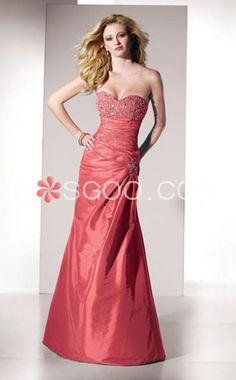 Types of evening dress of women