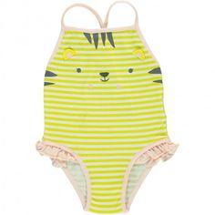 Maillot de bain une pièce bébé fille Multicoloured