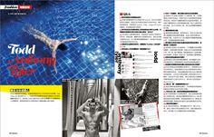 Todd Anthony Tyler interview in Femina magazine