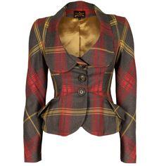Vivienne Westwood jacket, £390, Garment Quarter