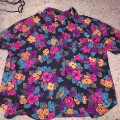 Hawaiian shirt Hawaiian shirt Tops Button Down Shirts