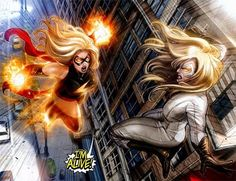 MARVEL PANEL OF THE DAY    From: Ms. Marvel (2006) #46    Never count Carol Danvers out!