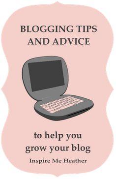 Blog Tips and Advice