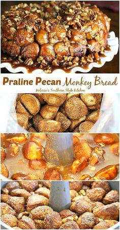 Praline-Pecan Monkey Bread [Using Rhodes Frozen Yeast Rolls]